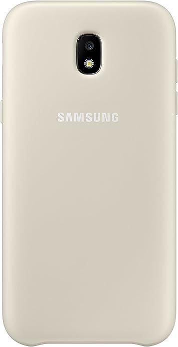SAMSUNG Dual Layer Cover - Carcasa Galaxy J5 2017, Color Dorado ...