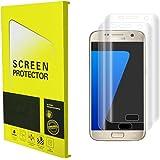 [2-Pack]Samsung Galaxy S7 Edge Schutzfolie, Protectify 2-Pack PET Anti-Fingerabdruck Displayschutzfolie Displayschutz Screen Protector Für Samsung Galaxy S7 Edge (nicht gehärtetem Glas)