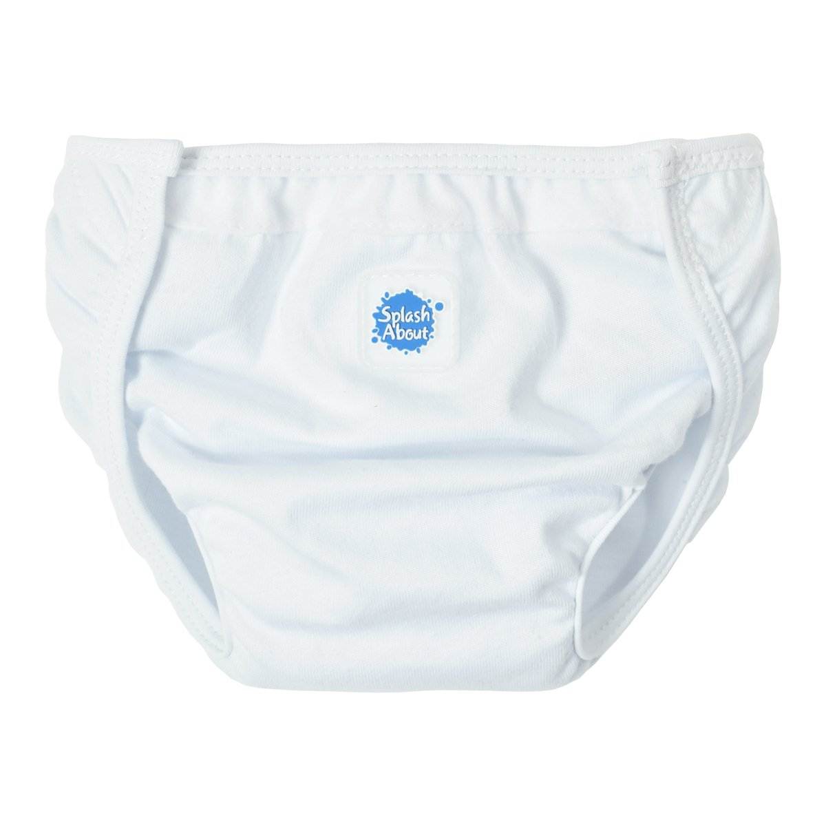 Splash About Kids Single Nappy Wrap - White