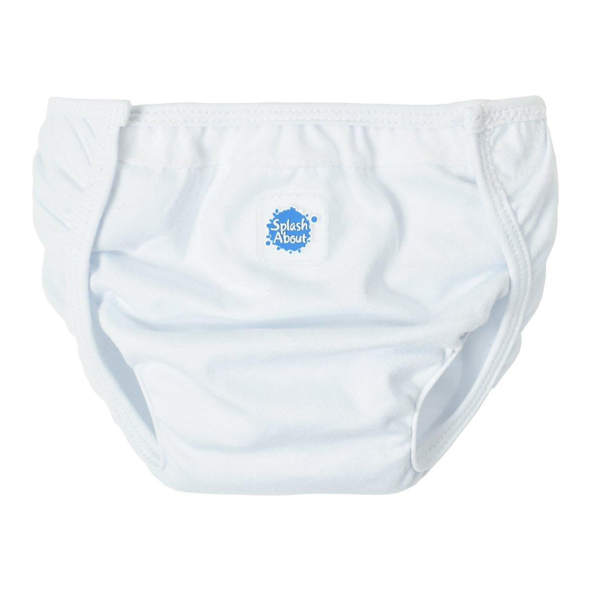 Splash About NW2 - Protector de pañal unisex, color blanco, talla media