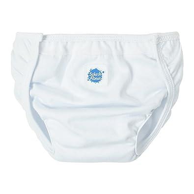 Splash About NW3 - Protector de pañal unisex, color blanco, talla grande