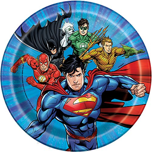 Justice League Dessert Plates, 8ct for $<!--$2.85-->