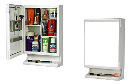 Parasnath Strong and Heavy New Look Bathroom Cabinet with Cabinet With Mirror�(Made In India)