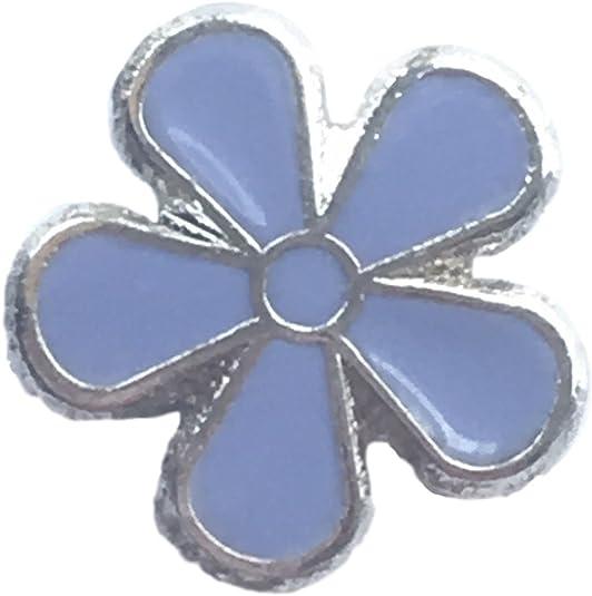 Forget-me-not Fleur Alzheimer sensibilisation /émail /épinglette 15mm