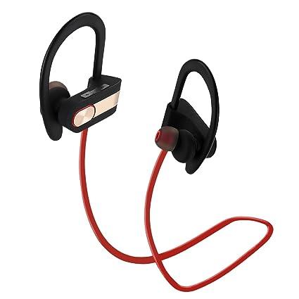Auriculares Bluetooth los Deportes,Coio Bluetooth Auriculares Estéreos sin Hilos 4,1 Ruido Cancelación
