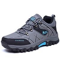 Laiwodun Chaussures de randonnée Homme, Chaussures Marche Hiver, Chaussures Sports Outdoors Chaussures Montagne Baskets Hiver Baskets Montantes Bottes Chaudes