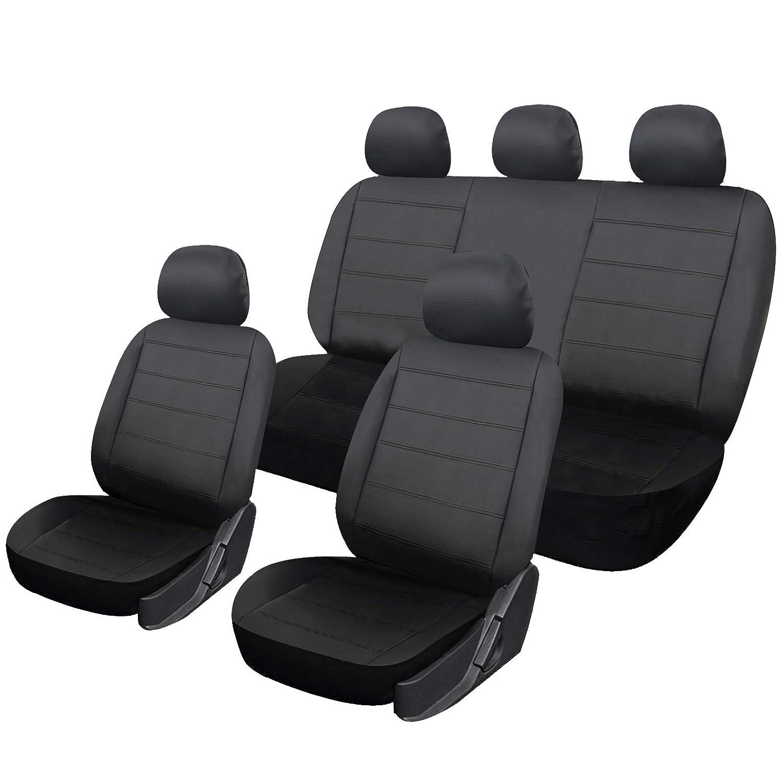 WOLTU Coprisedili per Auto Universali a 5 Posti Protege Sedile Set Cever in Ecopelle 2420706031
