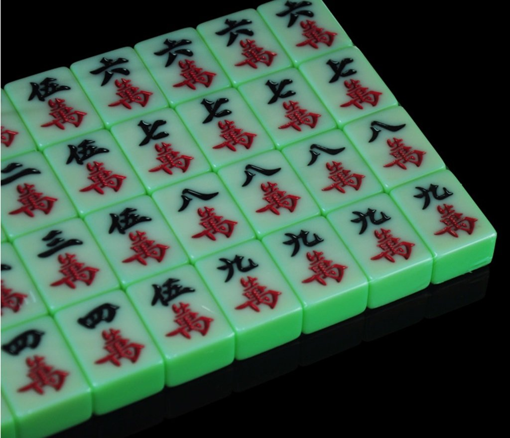 LI JING SHOP - Große Mahjong Karte, Haupthandart grünes Mahjong, Mahjong, Mahjong, Größe: 3.8  3.0  2.0CM / 4.0.03.1  2.1CM /4.23.22.2CM ( größe : 4.23.22.2CM ) 2f79bb