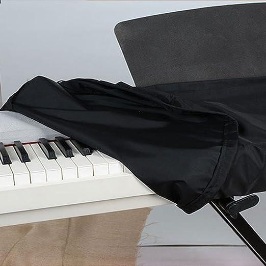 61 teclas/88keys impermeable electrónica teclado de Piano Dust Cover teclado bolsas casos cubiertas con cordón elástico y cierre (hcz14): Amazon.es: ...