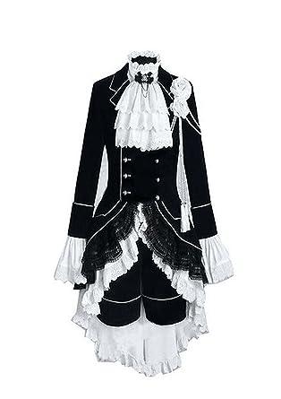4e77f292a Trust Costume Black Butler Ciel Phantomhive Cosplay Costume (Female-XS)