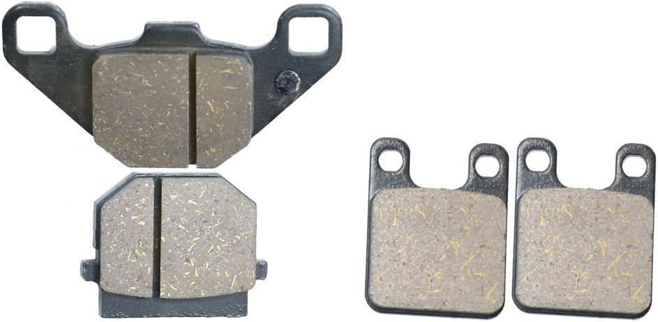 2 Pads Delanteros Brake Pad Semi Met/álicos fit Street Bike DRD50 DRD 50 Senda Xtreme 50R Enduro 21 Spoke Wheel 260mm Front 11 12 13 14 15 2011 2012 2013 2014 2015 1 Pair