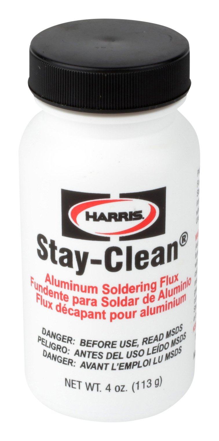 Harris SCAF4 Stay Clean Alum Soldering Flux, 4 oz.