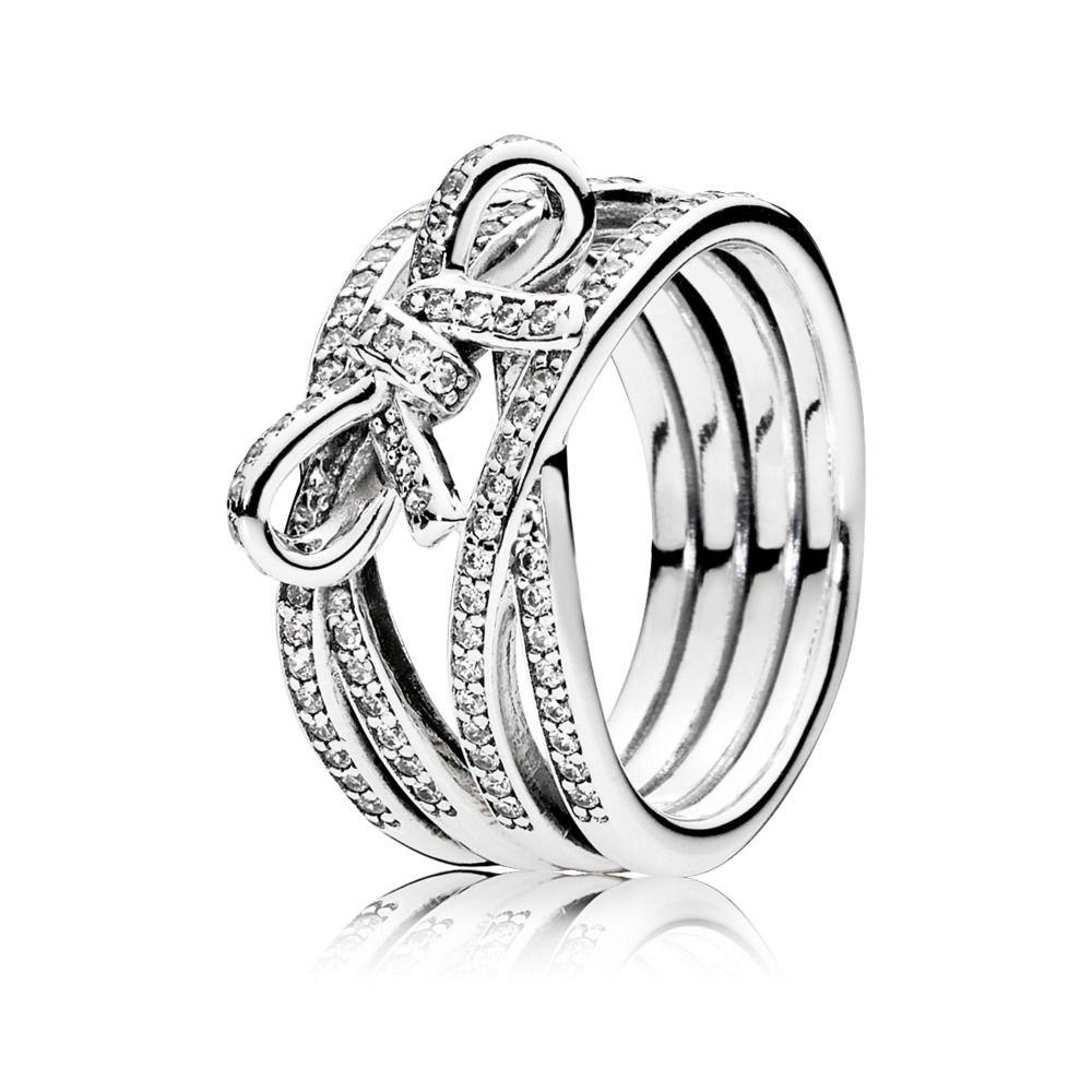 950f43d00 ... Pandora Delicate Sentiments Ring 190995cz-56 size (7.5) ...