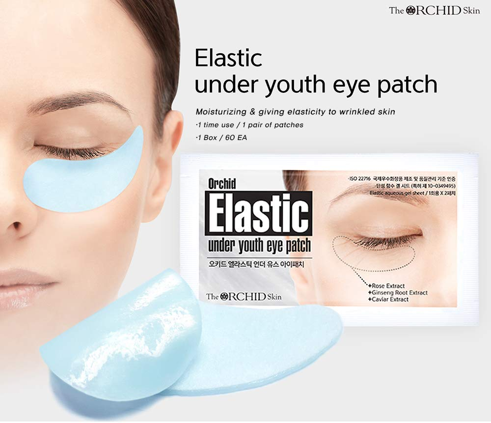 Orchid Elastic Under Youth Eye Patch
