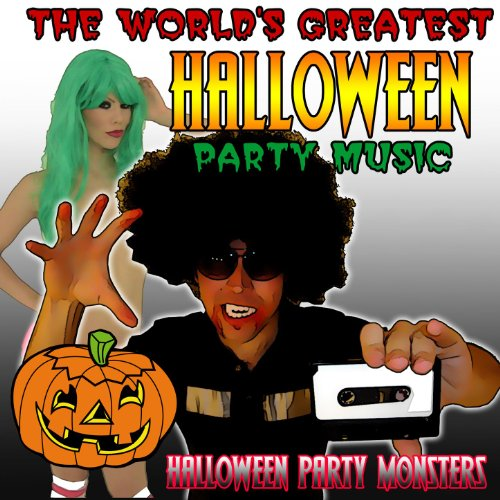 The World's Greatest Halloween Party Music [Clean]