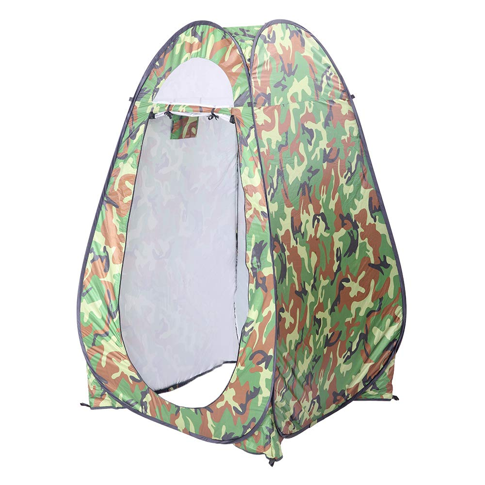 Teeker Portable Toilet,Portable Shower Tent Outdoor Privacy Toilet & Changing Room (Camouflage) by Teeker