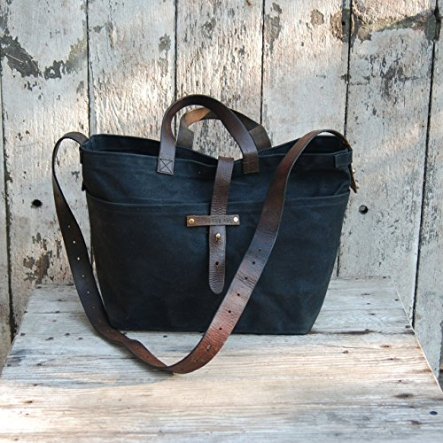 Amazon.com: Waxed Canvas Tote: Handmade