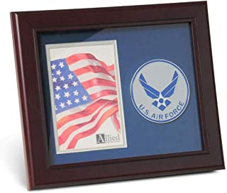 product image for flag connections Aim High Air Force Medallion 4 by 6 inch Portrait Picture Frame