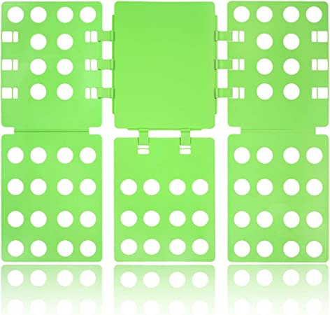 Tiantu Doblador de ropa Tabla para doblar ropa Camisas ropa adulto 57 * 68,5cm Camisetas Vestidos Chaqueta Suéter (Verde): Amazon.es: Hogar