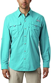Columbia Tall Bahama™ II L/S Camisa para Hombre: Amazon.es: Deportes y aire libre
