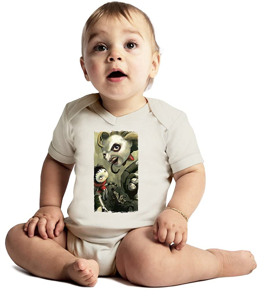 Beetlejuice angry face Amazing Quality Baby Bodysuit by True