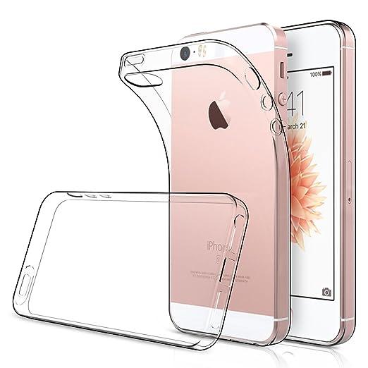 """15 opinioni per Cover iPhone 5S 4.0"""" ( Confezione da 2 ),Simpeak Custodia Chiaro Cristallo"""