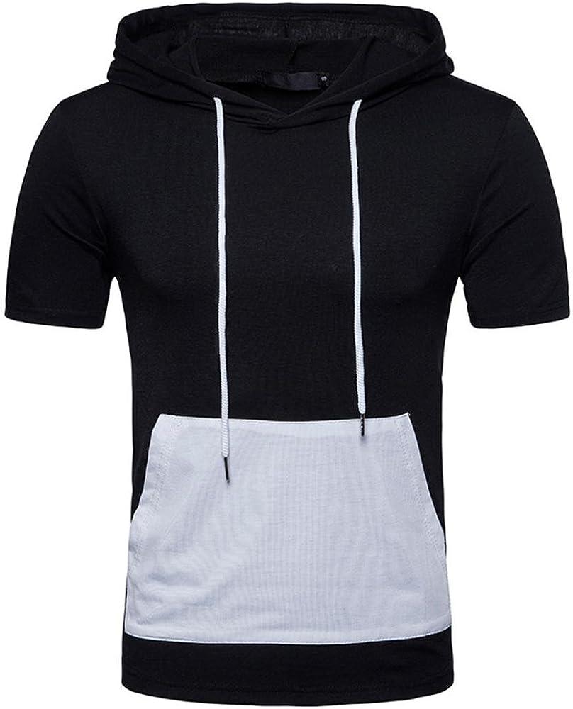 Camiseta para Hombre, Camisas de Hombre Manga Corta, Camiseta de Impresión de Moda de Verano para Hombres Camisa Casual de Manga Corta Tallas O Neck Pullover Manga Corta Camiseta Top Blusa: Amazon.es: