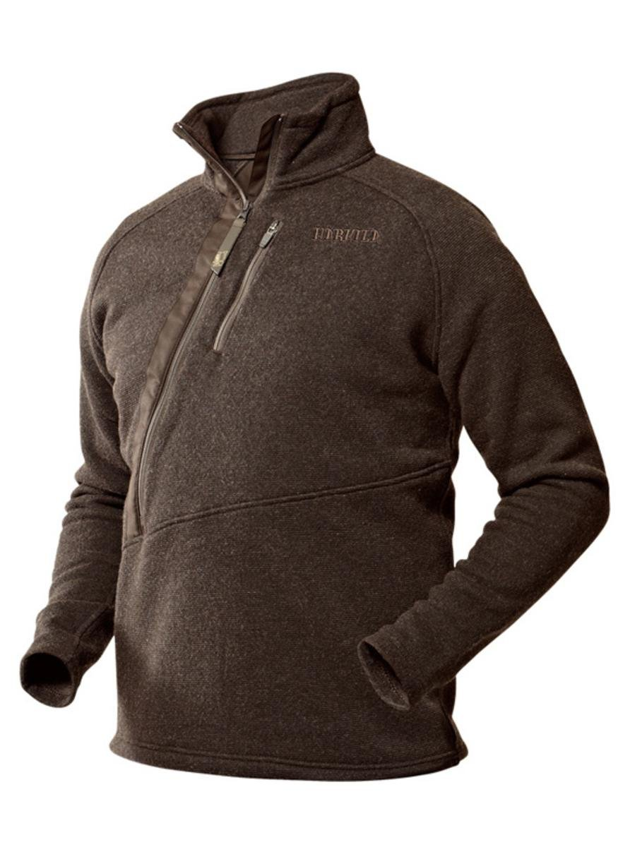 : Harkila Nite Pullover Shadow Brown Melange