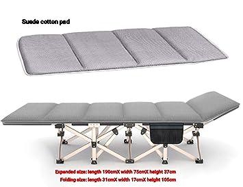 Cama Plegable, Cama de Viaje, sillón reclinable, Cama de ...