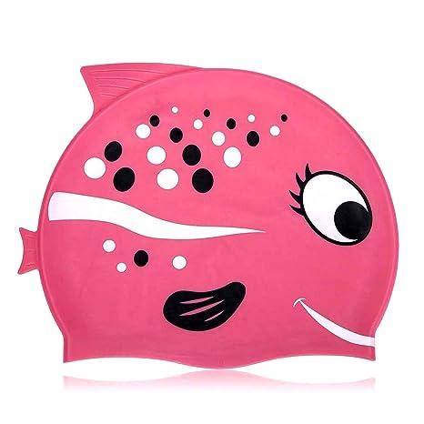 Cuffia da nuoto Fun design cuffia da nuoto in silicone per bambini –  Cartoon modello ( efec86402235