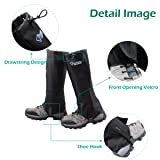 Azarxis Hiking Gaiters for Outdoor Camping