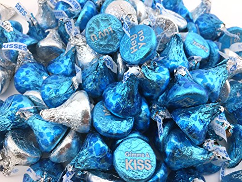 pink and silver kisses chocolate - 8