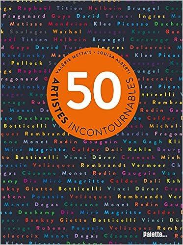 Livre en pdf gratuit 50 artistes incontournables