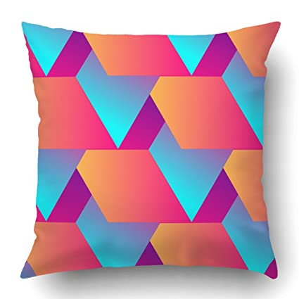 Amazon Com Emvency Pillow Covers Decorative Abstract