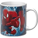 Star Licensing Marvel Spiderman Tazza Mug, Ceramica, Multicolore