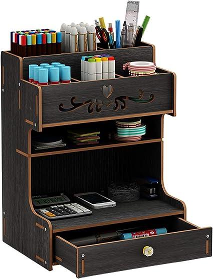 Organizer da scrivania in legno Regalo per ufficio.