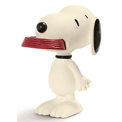 Schleich Peanuts Snoopy with His Supper Dish Figure: Schleich: Toys & Games