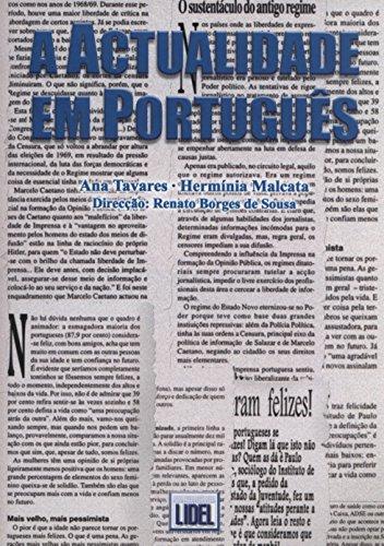A Actualidade Em Portugues (Portuguese Edition)