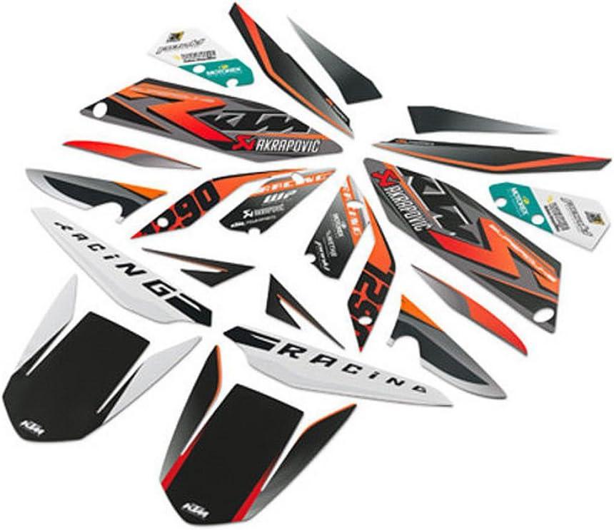 NEW OEM KTM GRAPHIC KIT RACE 2014-2015 1290 SUPERDUKE R 61308999000