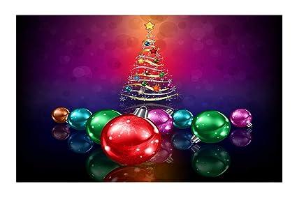 janninse red purple orange colored christmas tree stars ribbon christmas vertical stripes small door mats - Small Purple Christmas Tree
