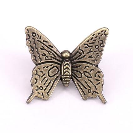 Vita Hardware Bronze Knobs Handles Butterfly Kitchen Cabinet Handles