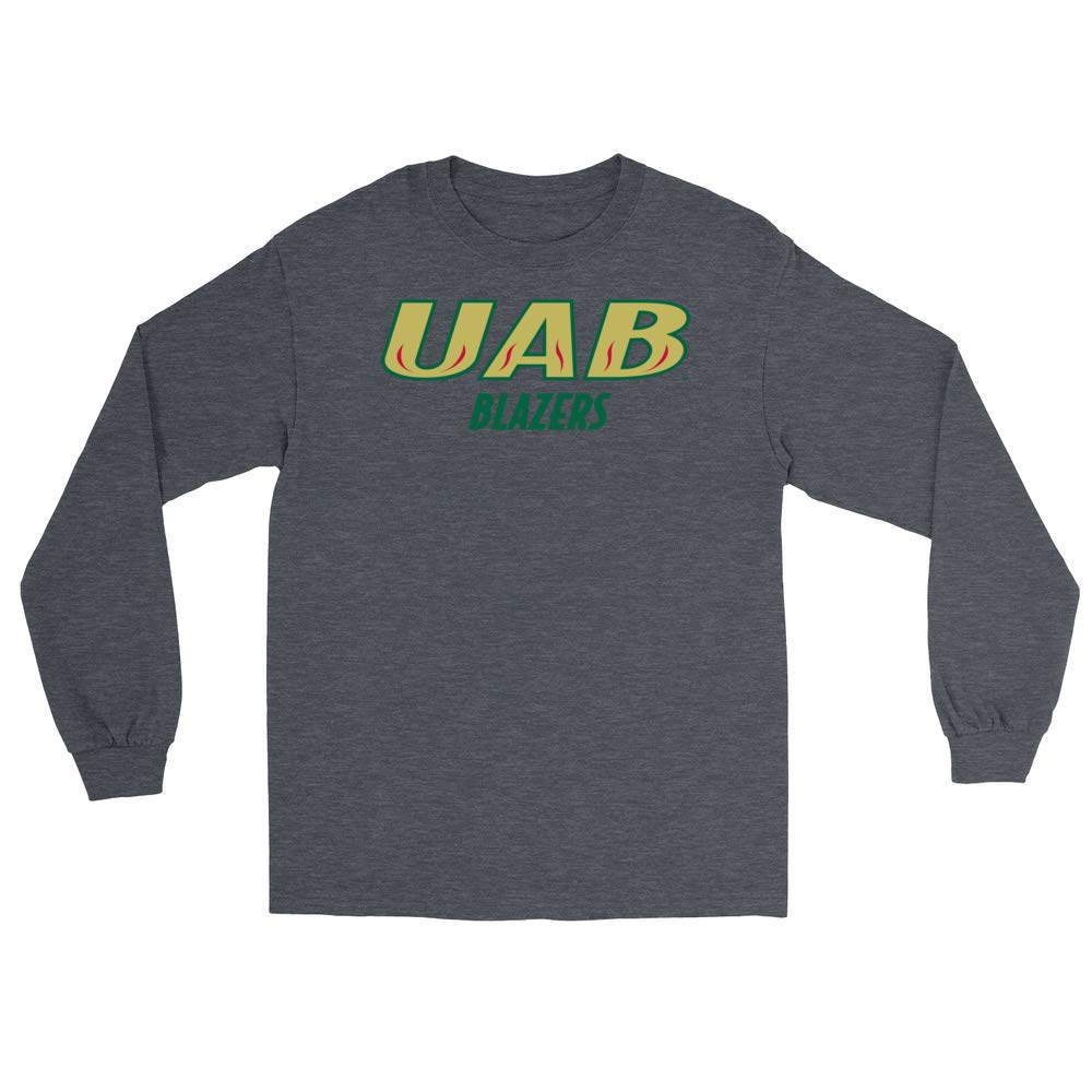 Official NCAA University of Alabama at Birmingham Blazers PPUAB05 Mens//Womens Boyfriend Long Sleeve Tee