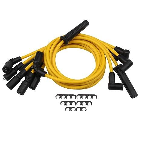 Amazon.com: Big-Autoparts One Set 8mm Spark Plug Wire Blazer S10 ...