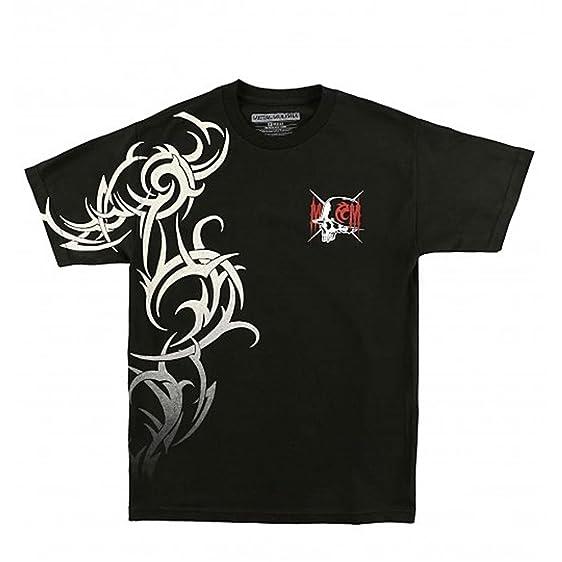 Metal Mulisha Men's Uppercut SS T Shirt Black -S