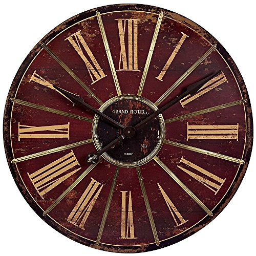 Imax Corporation Large Wall Clock in Red from Imax