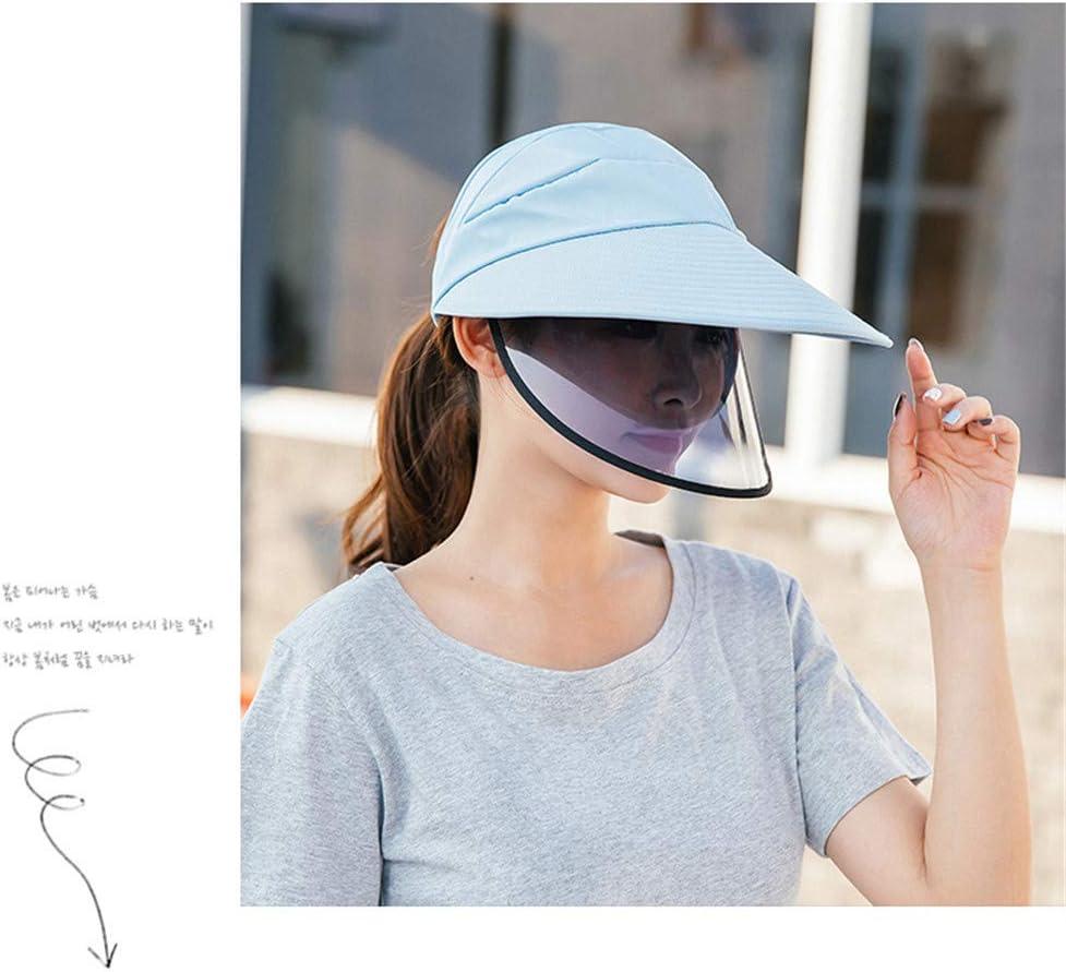 Cappello di Protezione delle Donne Anti-Fog Anti-Saliva Proteggere Occhi e Il Viso Cappello di Copertura Esterna Cappello per Il Sole Pescatore,A LFLDZ Sicurezza Viso Shields