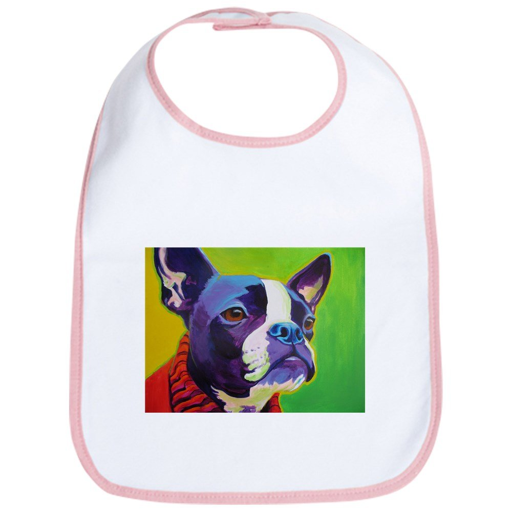CafePress - Boston #2 - Cute Cloth Baby Bib, Toddler Bib