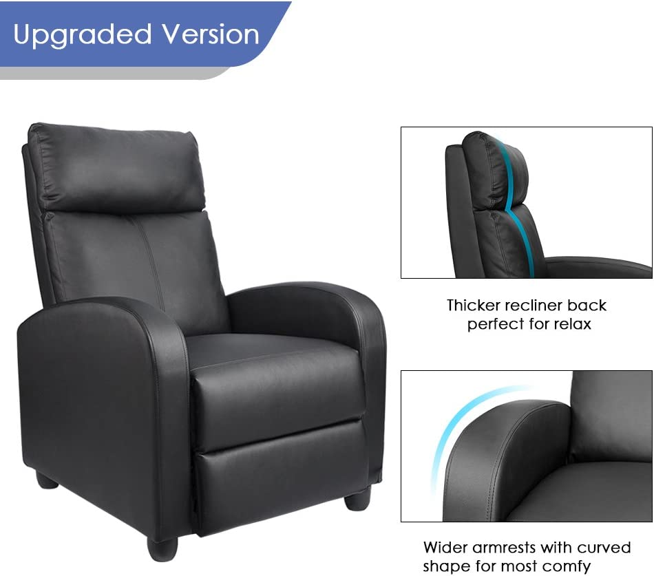 Homall Single Recliner Chair elegant design