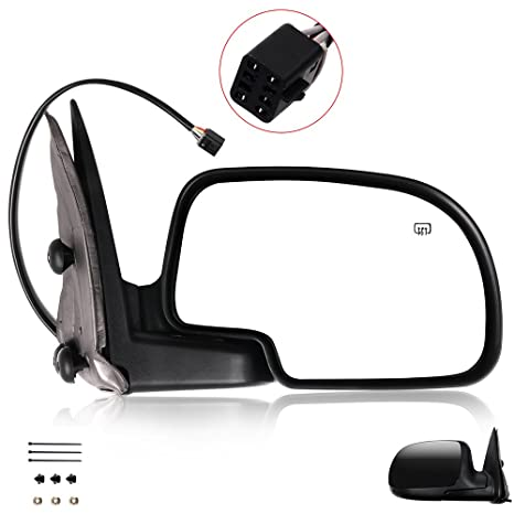 Amazon Scitoo Door Mirrors Fit Chevy Exterior Accessories. Scitoo Door Mirrors Fit Chevy Exterior Accessories 02 Avalanchesuburban 1500. Chevrolet. 2002 Chevy Tahoe Mirror Parts Diagram At Scoala.co