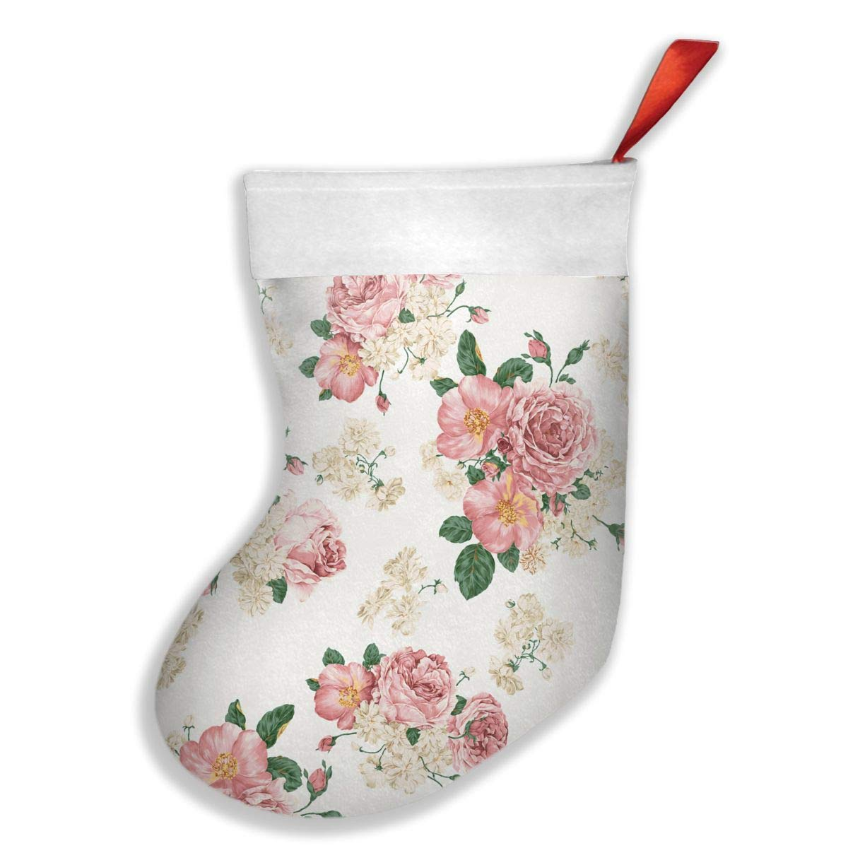 PO1 UP Flower Floral 1 Christmas Stockings